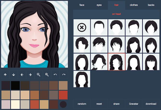 faça avatares legais para fotos de perfil
