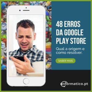 resolver erros play store da google