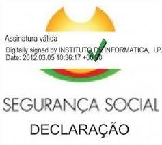 Como validar uma Declaração da Segurança Social 3