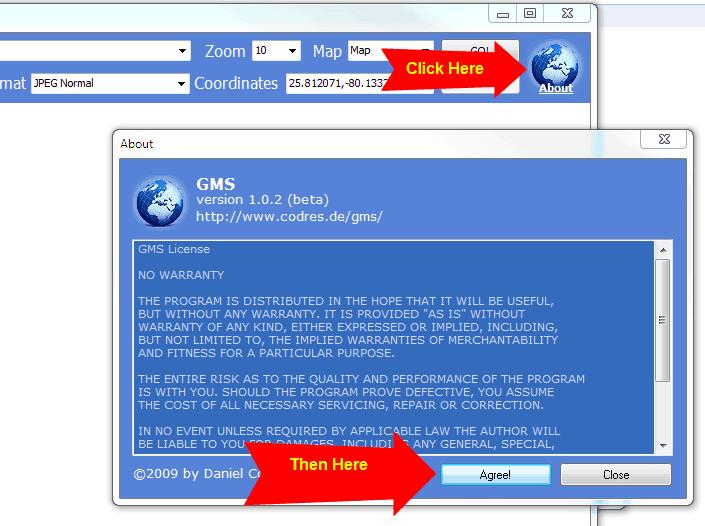guardar google maps offline no computador