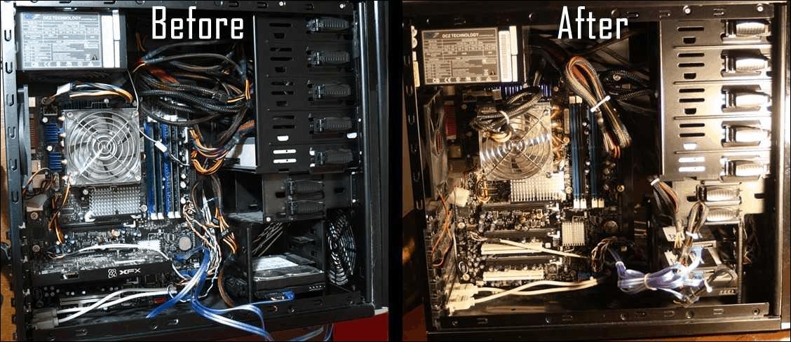 Como limpar o pó de um computador 30