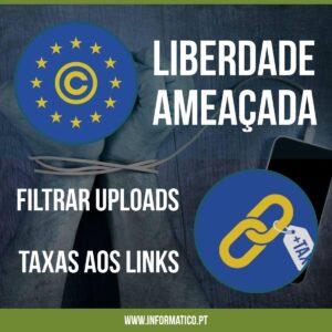 Liberdade ameaçada com filtros a uploads e taxas a links 3