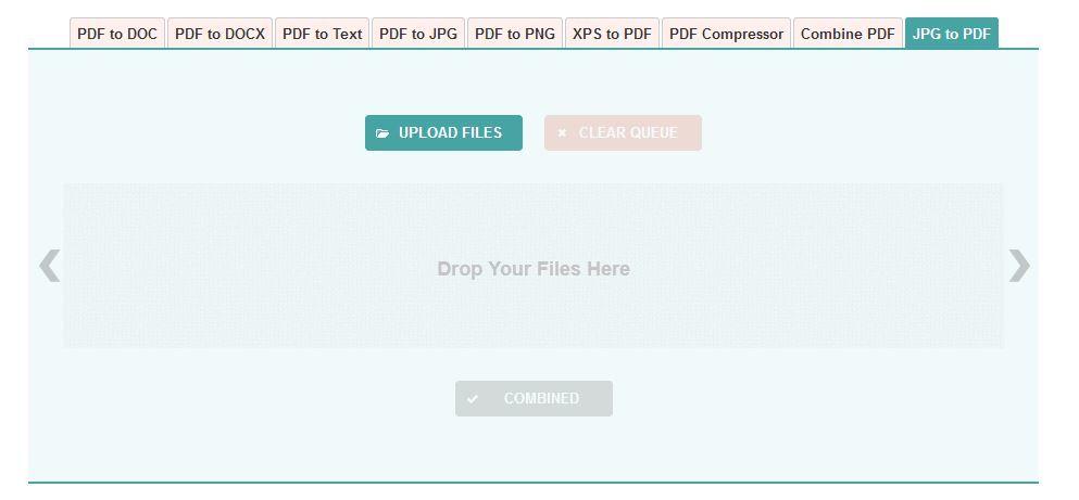 Como converter um ficheiro JPEG num PDF 5