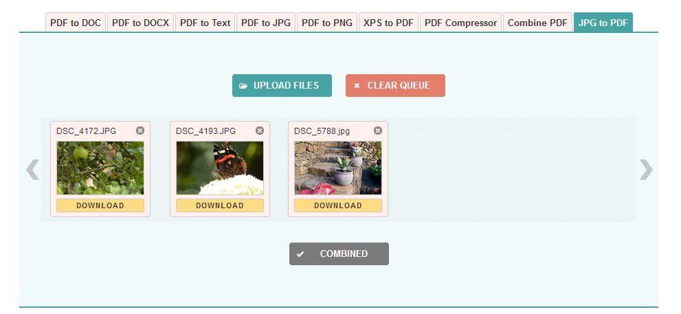 Como converter um ficheiro JPEG num PDF 6