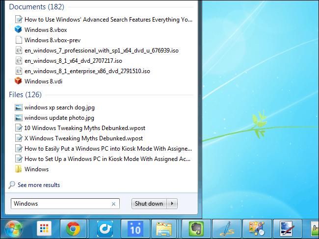 Aplicação grátis pesquisar mais rápido que o Windows Explorer