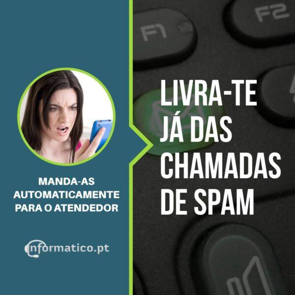 CHAMADAS SPAM MANDAR PARA ATENDEDOR