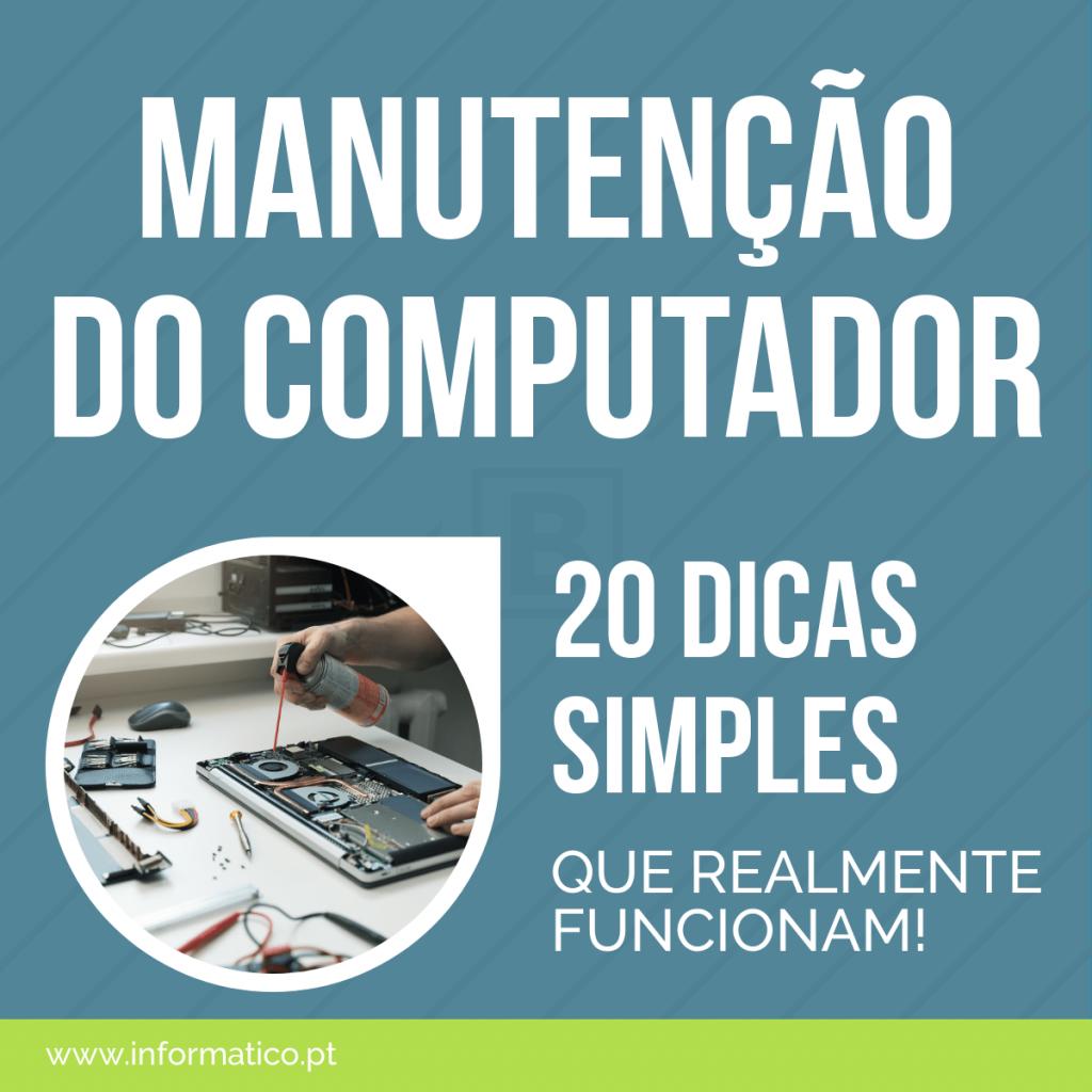 manutenção computadores