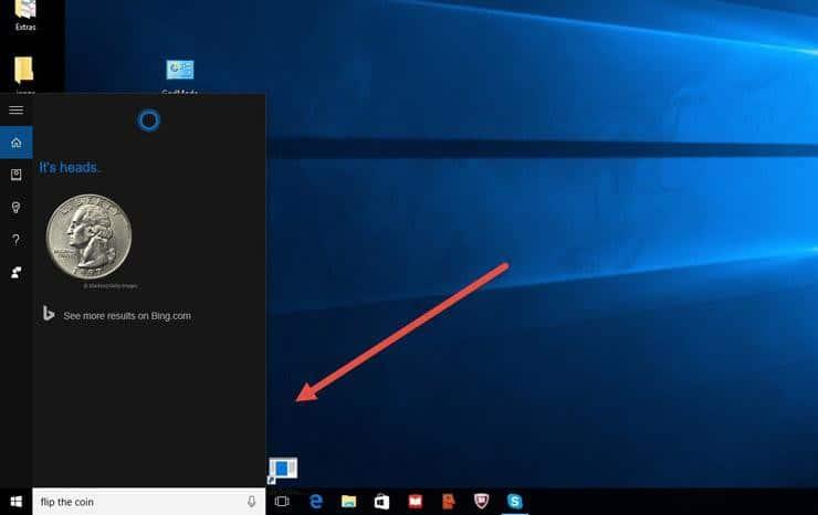 Jogos escondidos em Cortana