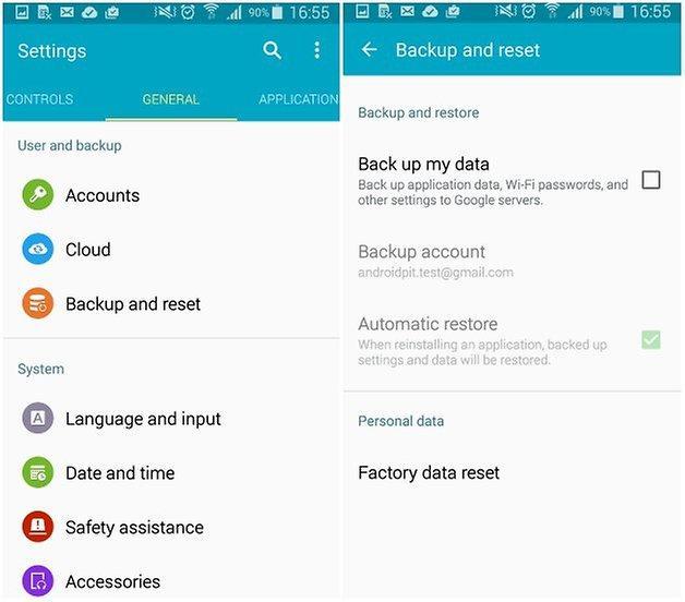 androidpit google play erros reset de fábrica