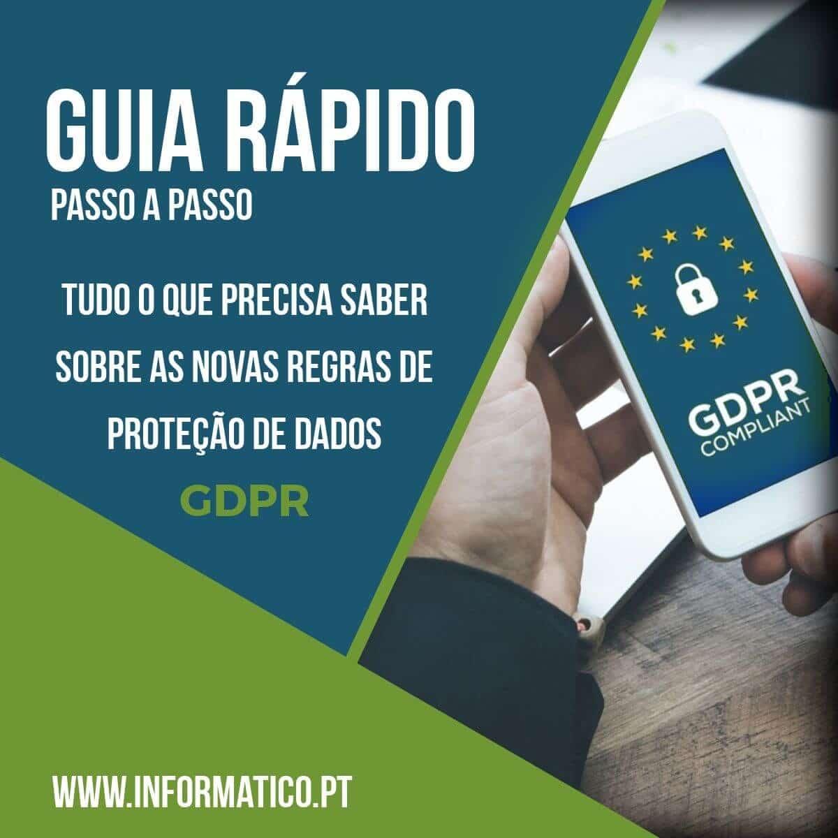 Guia passo a passo GDPR