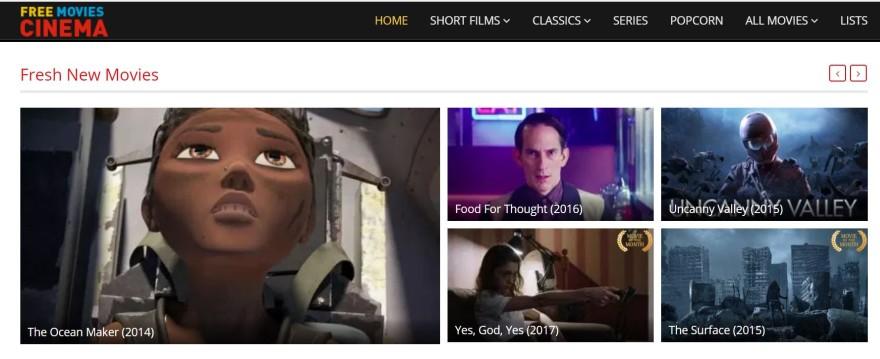 cinema de filmes grátis