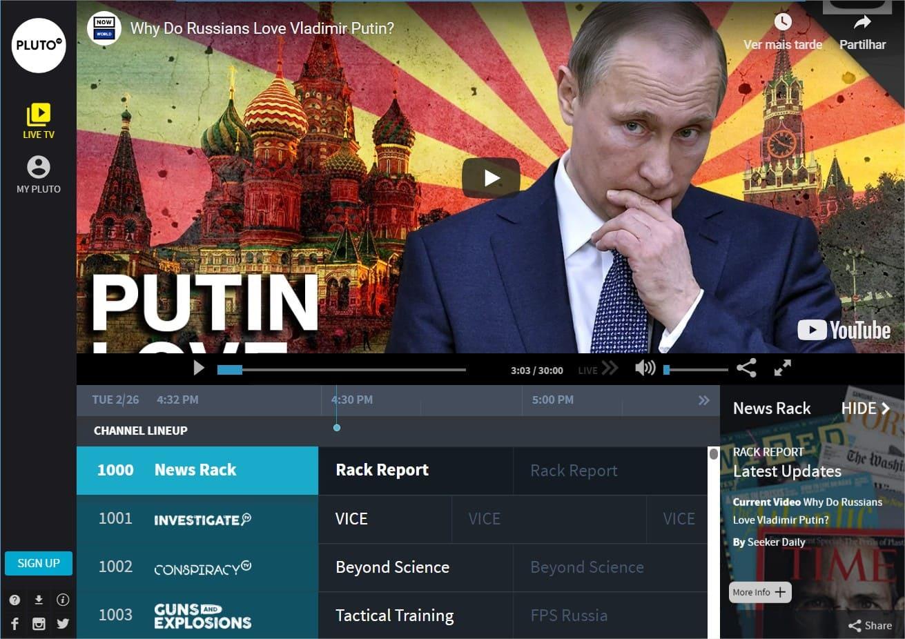 filmes grátis online pluto tv
