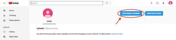 Como criar um canal do Youtube em 7 passos 6