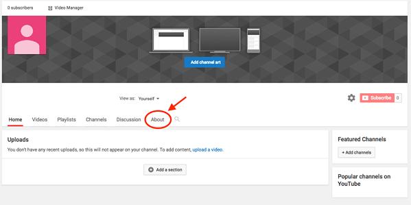 Como criar um canal do Youtube em 7 passos 12