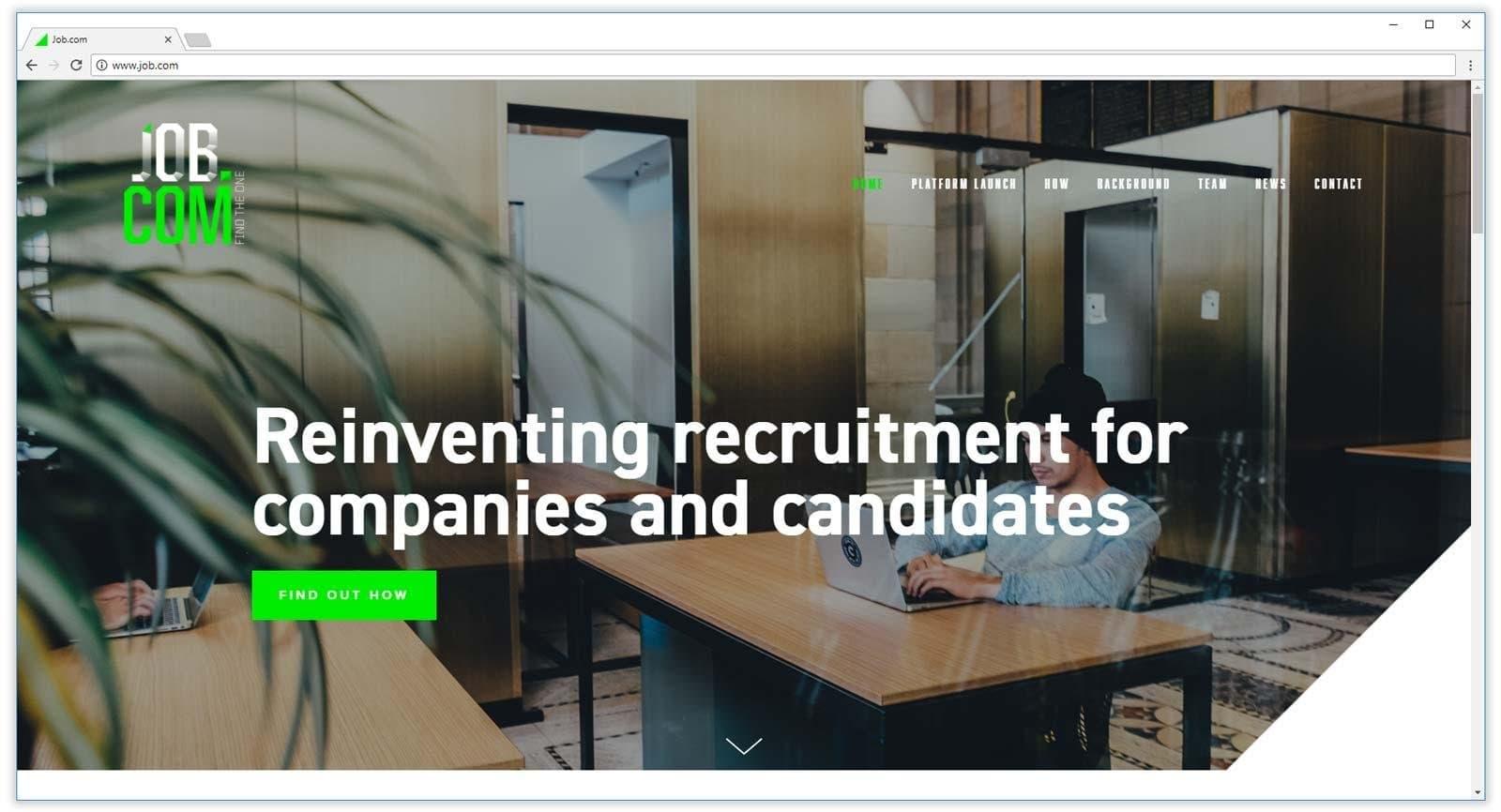 homepage do job.com