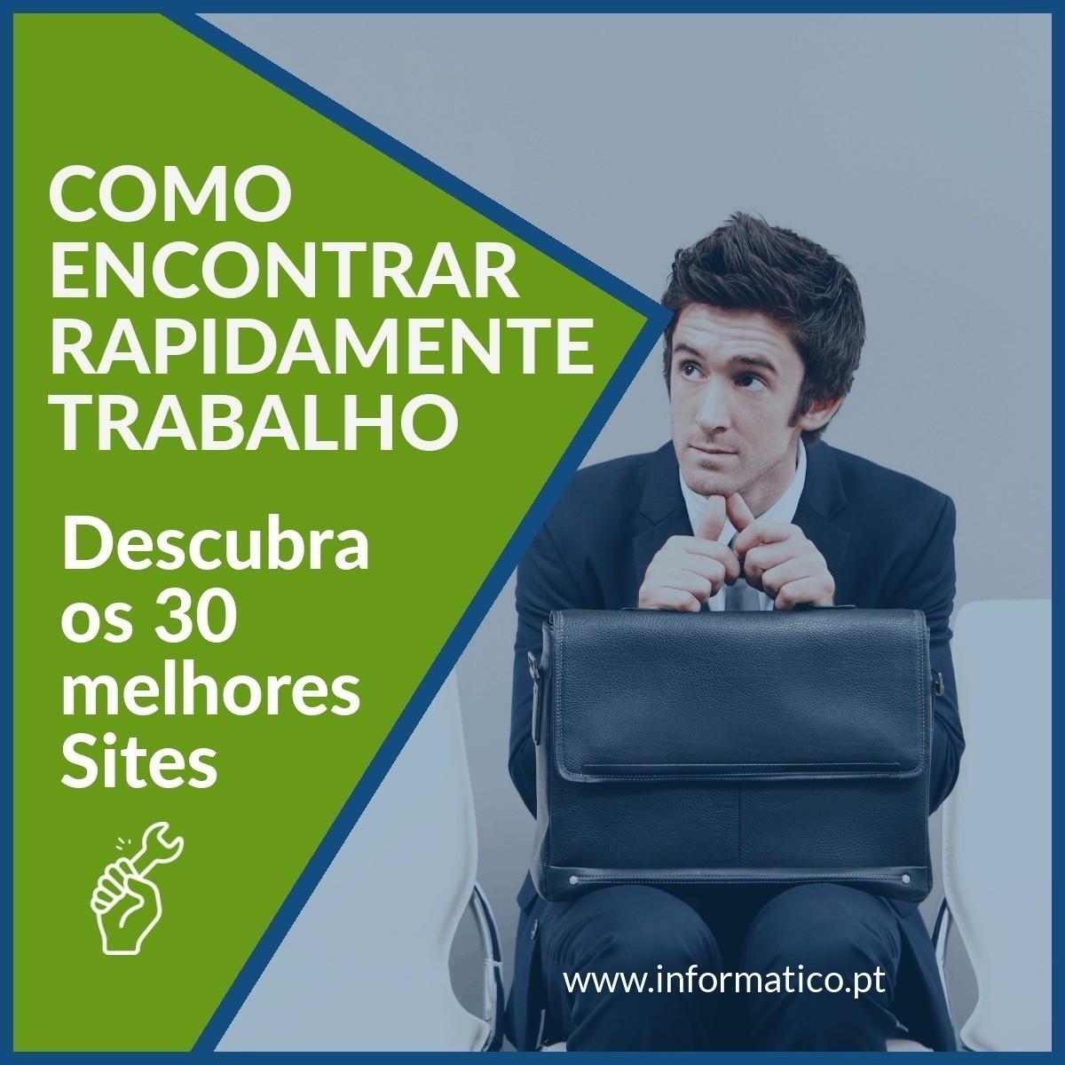 sites encontrar emprego rapido