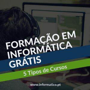 Formação Informatica grátis cursos