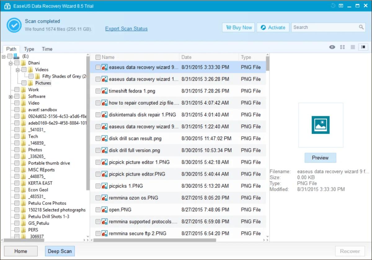 software recuperação dados ficheiros partições perdidos eliminados