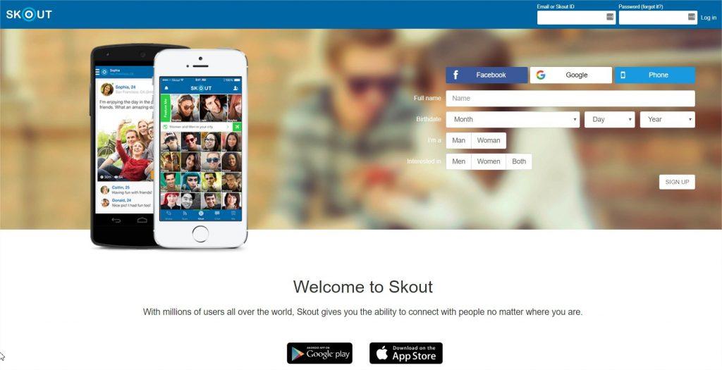 SKOUT sites encontros online