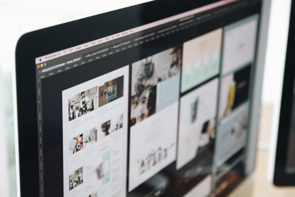 web design móvel