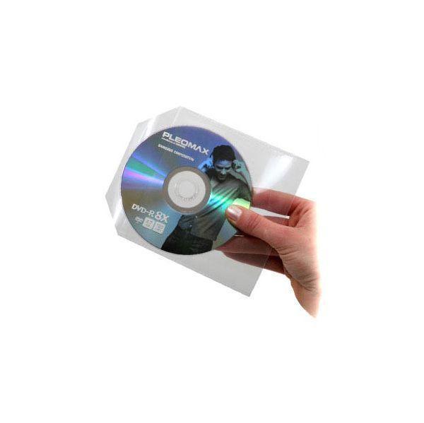 Bolsas Plástico MEDIARANGE p/ CD/DVD individuais – Pack 50 Unidades 1