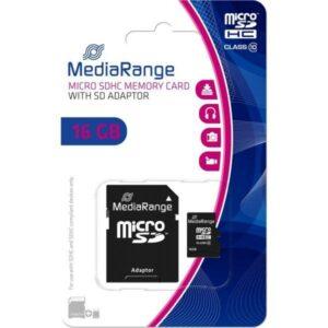 Cartão Micro SD 16GB – MediaRange