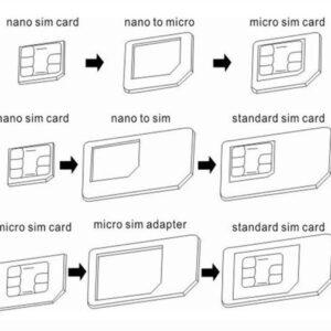 Adaptador de cartões SIM NOOSY