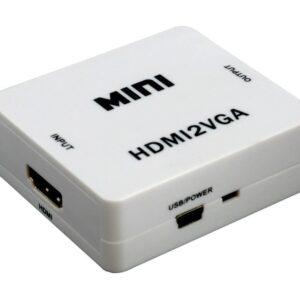 Adaptador HDMI para AV com Audio