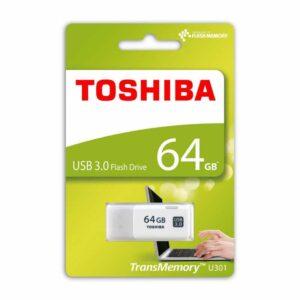 Pendrive 64Gb White USB 3.0 – Toshiba