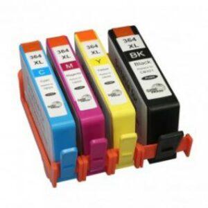Tinteiros HP 364 XL (Pack 4 cores) - Compativel