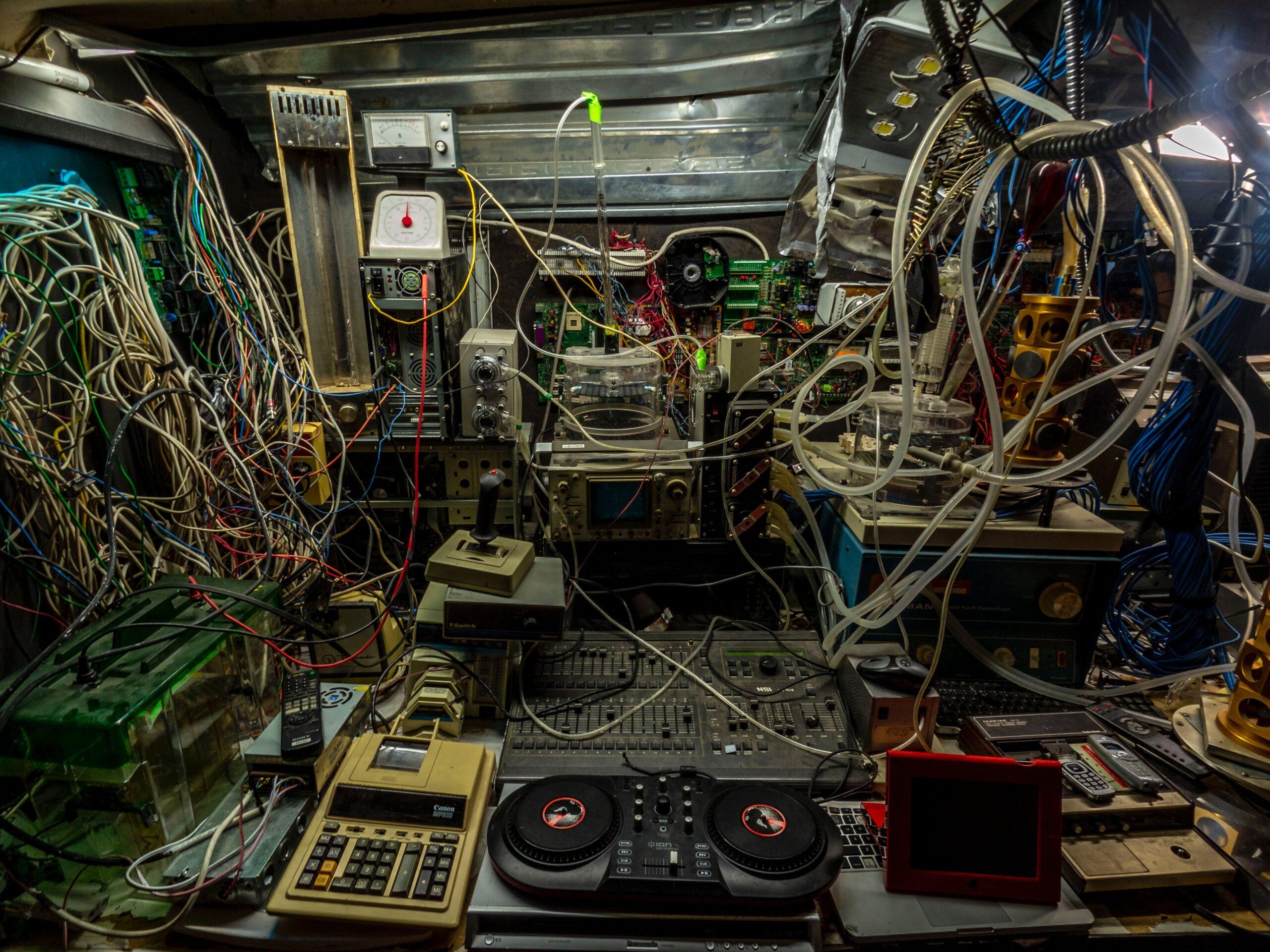 audio mixer set